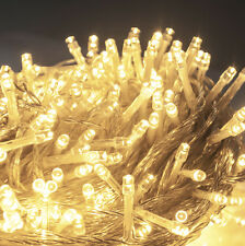 500 LED 50M Warm White Fairy String Lights Lighting Christmas Xmas Party