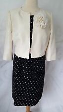 Jacques Vert Dress & Jacket Mother of the Bride Outfit Size 18 / 20