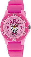 CITIZEN Q & Q Watch Hello Kitty Waterproof Dive 10atm Ladies VQ75-230 from Japan