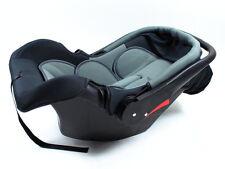 Babyschale Kinderautositz Baby X5 schwarz/grau Gruppe 0+ 0-13kg 0-12 Monate