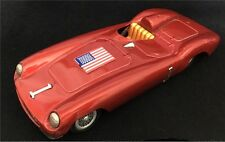 Vintage 60s Bandai USA FERRARI Tin Friction Car Japan masudaya yonezawa vtg