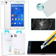 Z3 Genuine Nillkin H+ 2.5D Anti-Explosion Tempered Glass Film For Sony Xperia Z3