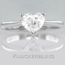 1.00ct Certified D IF VG Heart Shape Diamond Solitaire Engagement Ring Platinum