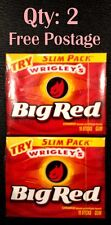 2 X USA Big Red Cinnamon Chewing Gum