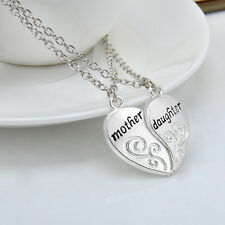 """Dazzling Mother and Daughter Love """"Mom"""" Necklace Mother's Day Gifts For Mother"""