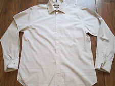 """Mens DUFFER ST GEORGE Long Sleeved Shirt Size L / XL 16.5"""" 42cm IMMACULATE"""