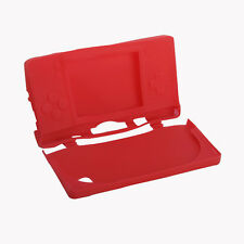 Silicone Soft Rubber Protector Case Cover Skin For Nintendo DSi NDSi LL XL Red