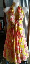 Kookai - 100% Silk Floral Dress - Size 8