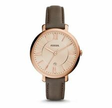 Fossil Watch, ES3707 Brown Leather Band, 36mm Case, 3ATM WR RRP $179
