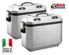 Givi DLM36 Trekker Dolomiti Panniers, Aluminium Side Cases. (A Pair) DLM36APACK2