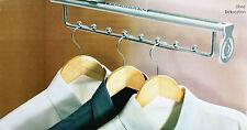 Garderobenleiste Garderobe Kleiderschrank Leiste ausziehbar Hakenleiste Schrank