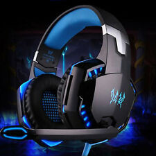 3.5mm Surround Sound Gaming Headset Mic LED Headphones Stereo for PC Laptop