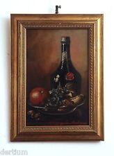 Maurice Dupuis 1882-1959 - Stilleben mit Obst und Cognac-Flasche