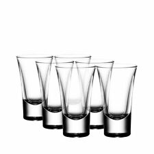 NEW Bormioli Rocco Dublino Shot Glass 57ml Set of 6