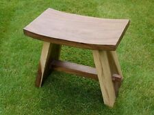Strong Solid Teak Wooden Stool kitchen Hallway Utility porch Benches Chairs farm