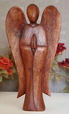 Deko Engel Engelsfigur Schutzengel Skulptur Dekoration Putte Holz Engelfiguren