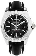 Breitling Men's A49350L2/BA07 Galactic 41 mm Automatic Trophy Black Dial Watch