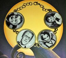 THE MUNSTERS BRACELET kitsch vintage retro horror goth psychobilly lily herman