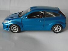 Ford Focus Metallic Blue RS Rally Spec Interior Italian Bburago Model 1/24