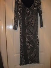 LADIES SIZE 12 MARKS & SPENCER AUTOGRAPH COLLECTION BODYCON DRESS