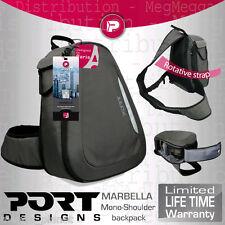 Port Designs Marbella SLR Camera +Lens Kit Quick-Access Swivel Backpack/Rucksack