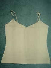 Khaki Camisole / Strappy Top from Next Size 14 BNWOT (003)