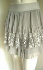 Portmans  Grey Lace SKIRT -Size 12