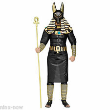 Anubis Egyptian God Deluxe Men's Costume with Mask