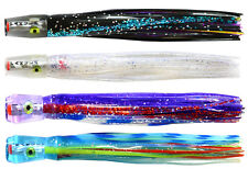 4 pack of Pakula Uzi / Fluzis ®. Awesome Game Fishing Trolling Lures. BRAND NEW
