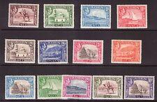 ADEN 1939 Definitive set lightly hinged.