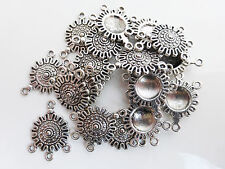 10 x Tibetan Style Silver Links Charms Pendants Findings      (CPX7008)