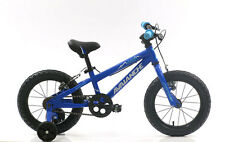 New - Avalanche Storm 14'' Kids Boys Bike - Blue with Stabilising Wheels