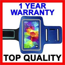 BLUE Sports Gym Armband Arm Band Running Case for Samsung Galaxy S5 S4 S3 S2 S 5