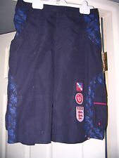 BOYS ENGLAND 3/4 LENGTH NAVY SHORTS AGE 12/13 OFFICIAL LICENSED BRAND NEW