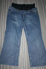 NOPPIES Damen Umstands Hose Jeans Gr. XL Blau Schwangerschaft Modisch  1198°