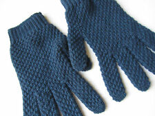 Paul Smith 100% Cashmere Blue Gloves - BNWT