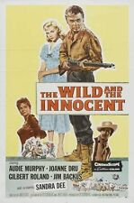 "Audie Murphy     "" The Wild and the Innocent ""   DVD  1959      NTSC FORMAT"