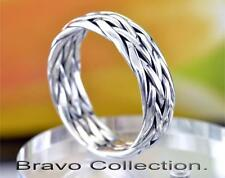 SIZE 9 Solid Sterling Silver Wedding Engagement Promise Thumb Men Ring R-222