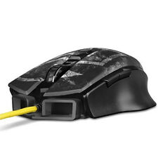 Sharkoon Shark Zone M50 Gaming Mouse Spiele Maus USB beleuchtet 8.200 DPI