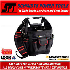 GEARWRENCH BUCKET LESS TOOL BAG HARD BASE ORGANISER TOOL CARRIER W/ STRAP 83144