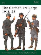 The German Freikorps 1918-23 by Carlos Caballero Jurado (Paperback, 2001)