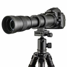 Pro 420mm-800m Zoom Telephoto Lens Fit for Camera Canon Nikon Sony Sigma