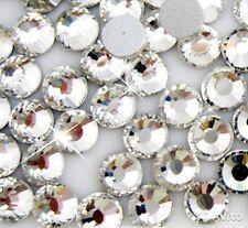 100 STÜCK Strasssteine CRYSTAL ss3 MINI ca 1,35 mm Nailart  Kristalle CLEAR klar