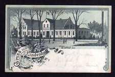 109898 AK Wismar 1900 Litho Gasthaus Lindenhof Restaurant Th. Krüger