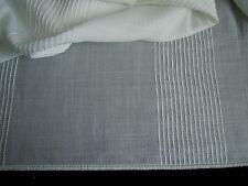 Gardinenstoff Vorhangstoff Stoff 290 cm x 340 cm,naturweiß,Muster,neu