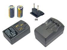 Akku + Ladegerät für Ansco APSilon Zoom 250, Mini MPZ 1300 Power Zoom