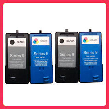 4PK Ink Cartridge (Series 9) for DeLL V305 V305w All-In-One 2 Black And 2 Colour