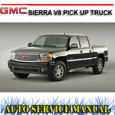 GMC SIERRA V8 PICK UP TRUCK 1998-2007 WORKSHOP SERVICE REPAIR MANUAL ~ DVD