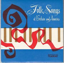 7 45 Mair and Alan Haywood - Folk Songs of Britain and America RARE 2EP
