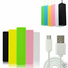 2800mAh POWER BANK PORTABLE USB BATTERY CHARGER FOR iPHONE iPAD HTC MOBILE PHONE